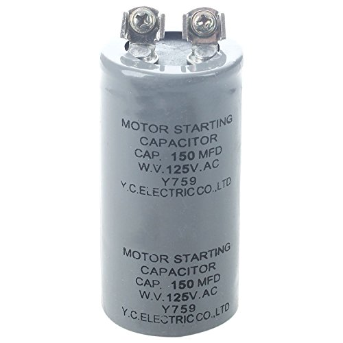 SODIAL(R) Cylinder 150MFD 125VAC Motor Starting Run Capacitor