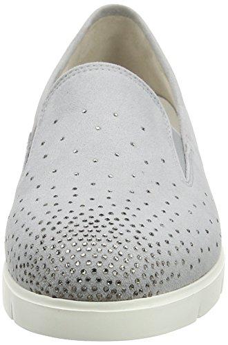 Gabor Shoes Comfort, Bailarinas para Mujer Gris (light greyStrass)
