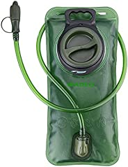 WADEO Hydration Bladder Water Reservoir 2L with Hydration Pack Cleaning Kit Tube Insulator Bite Valve Cover