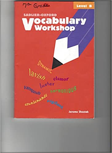 Book Vocabulary Workshop (New Edition Level B)