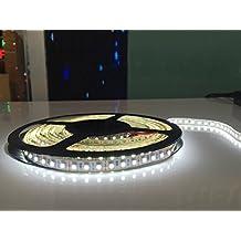 Led Republic 600 Units SMD 3528 LEDs 12V DC Flexible LED Strip Lights, 16.4ft/5m LED Light Strips, Daylight White, Non-waterproof, Lighting Strips, LED Tape