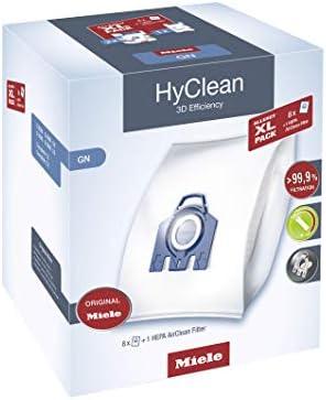 Miele Allergy XL-Pack GN Bolsa para el polvo - Accesorio para aspiradora (Bolsa para el polvo, Miele, Complete C3, Complete C2, Classic C1, S 400, S 600, S 800, S2, S5, S8,