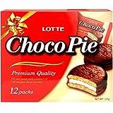 Lotte Choco Pie 11.85oz (Pack of 2)