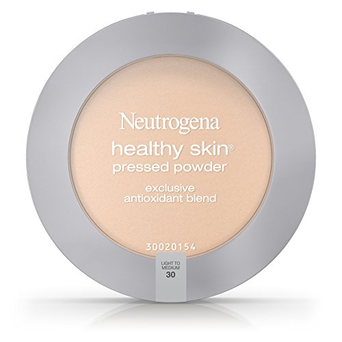 (Neutrogena Healthy Skin Pressed Powder Spf 20, Light To Medium 30,.34 Oz. (Pack of 2))