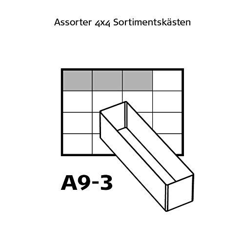 tipo 55/a: 6/x A9/ orden sistemas Raaco Uso Set transparente /3 136426
