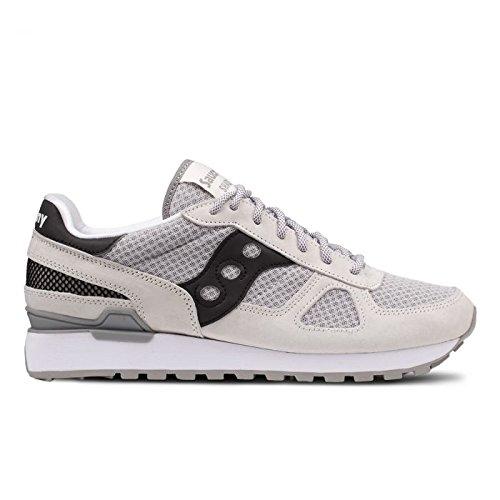 Saucony Scarpe Uomo Sneakers Shadows in camoscio Grigio SHADOW-S70401-4 grigio