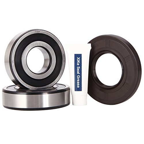 XiKe 131525500 Front Load Washer Tub Bearing & Seal Kit, Rotate Quiet and Durable Replacement for Kenmore, Frigidaire, GE, 131275200, 131462800, 407639, AP2578105, B018HFK0A4 (Ge Washer Tub)