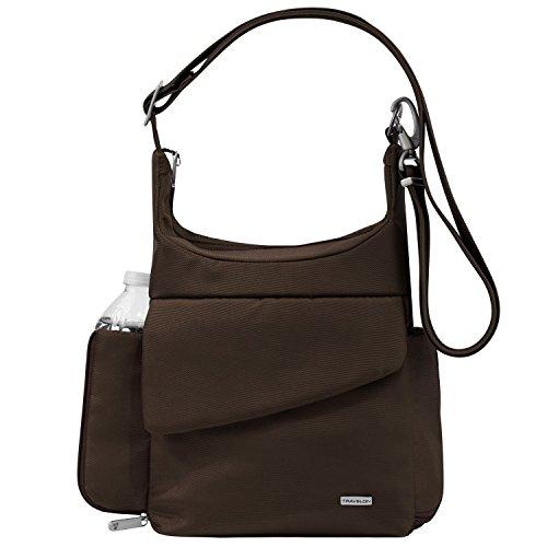 - Anti-Theft Mini Messenger Bag Color: Chocolate