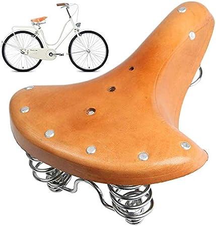 Rolansy Bicicleta Bici Sillín Asiento, Clásico Tradicional ...