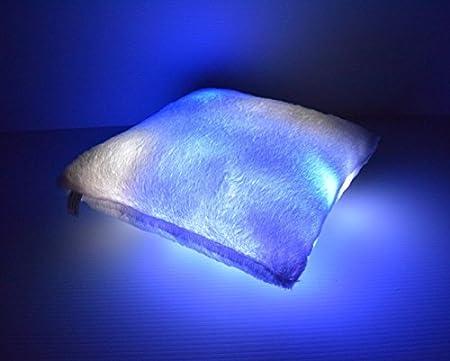 Amazon.com: LED Light Up – Almohada de tresillo Square Glow ...