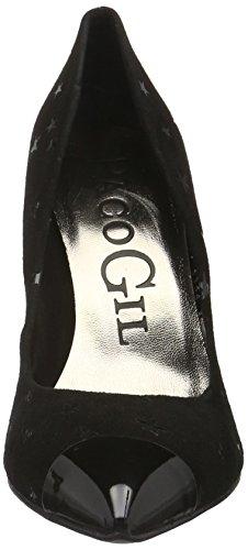Toe Black Gil Paco Black P3134 Heels WoMen Closed xUCqwz4