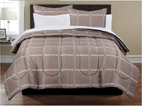 Plaid Bedding Bed-in-a-bag, Queen Size, Freshen the Look of Your Bedroom with This Bed ()