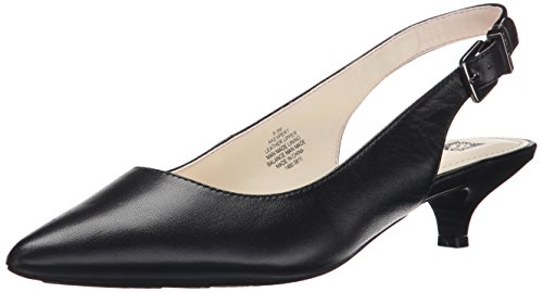 Anne Klein Women's Expert Dress Pump, Black, 11 M US