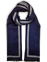 Bleu Nero Luxurious Cashmere Feel Winter Scarf Large Selection Unique Designs
