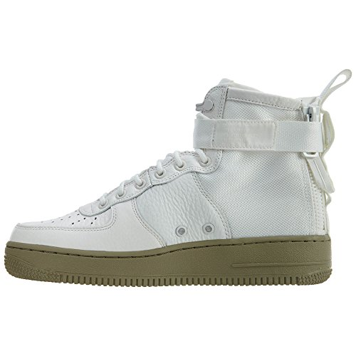 Nike Sf Af1 Mid, Zapatillas de Gimnasia para Hombre ivory, ivory-neutral olive