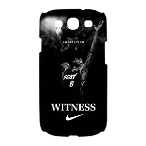 Diystore Miami Heat star LeBron James Samsung Galaxy S3 I9300/I9308/I939 Hard Cover Case