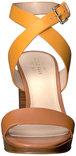 Cole Haan Womens Fenley High Platform Dress Sandal Sunglow/British Tan IQeLg5qwNu