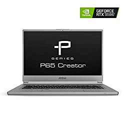 Image of the product MSI P65 Creator 1084 156 that is listed on the catalogue brand of MSI.