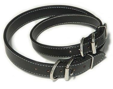 "Auburn Leathercrafters GI Dog Collars-Black-1"" x 22"" - 26"""