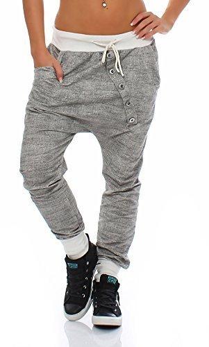 ZARMEXX trendy Damen Sweatpants Baggy Boyfriend Freizeithose Jogginghose Baumwolle Sporthose Loose fit