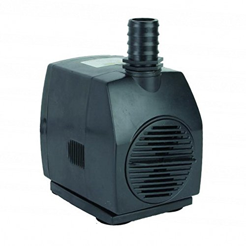 Jebao WP-3000 Submersible Fountain Pump 790 GPH with 30ft Power Cord