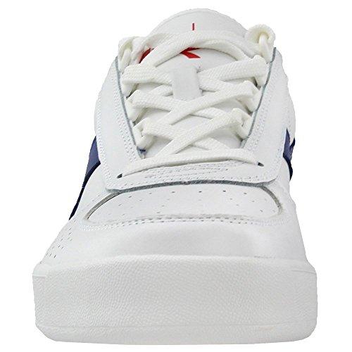 White Mazarine Men's Shoe Blue III B Poinsettia Elite L Diadora Court xpPn0Agq08