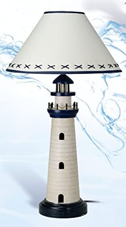 Lighthouse Nautical Lamp Table Lamps Amazon Com