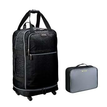 "Biaggi Luggage Zipsak 31"" Micro Fold Spinner Suitcase, Black"