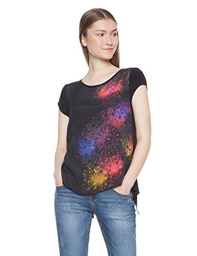 Desigual Camicia Donna negro 2000 berlina Blus arZwa0