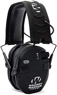 Walkers Game Ear GWP-RSEQM-BT Walker's Razor Quad Electronic Bluetooth Muff- Black 12.38x 4.
