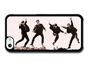 The Beatles Jumping Sepia Rockstars case for iPhone 5C