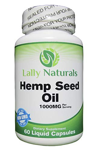 Organic Hemp Seed Oil Capsules 1000mg for Pain, Anxiety and Stress Relief | Non GMO | Vegan Friendly | for Chronic Pain…