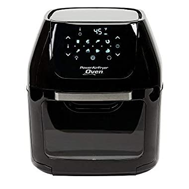 Power AirFryer XL 6 QT Power Air Fryer Oven With 7 in 1 Cooking Features with Professional Dehydrator and Rotisserie Rotisserie Rotisserie