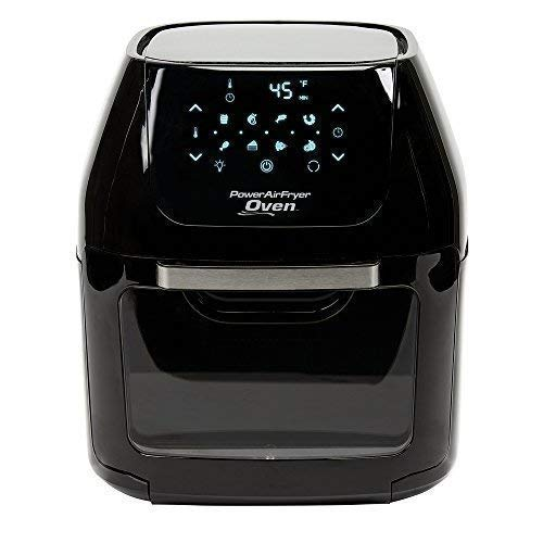 - Power AirFryer XL 6 QT Power Air Fryer Oven With 7 in 1 Cooking Features with Professional Dehydrator and Rotisserie Rotisserie Rotisserie