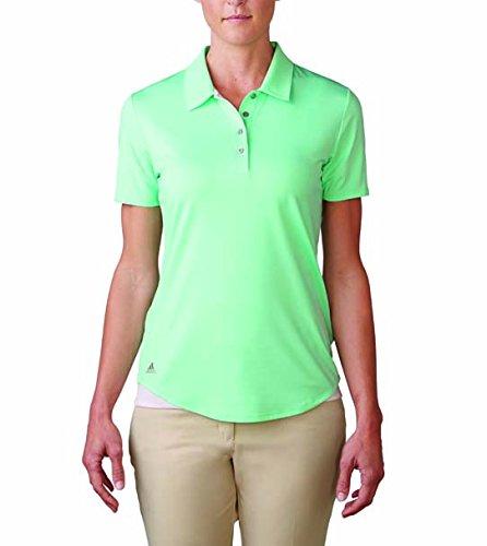 adidas Essentials 3 Stripe Short Sleeve Mujer Polo Verde Claro ...