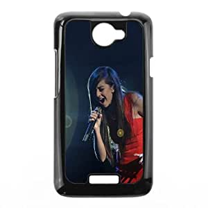 HTC One X Cell Phone Case Black hd05 christina grimmie music singer Mylpa