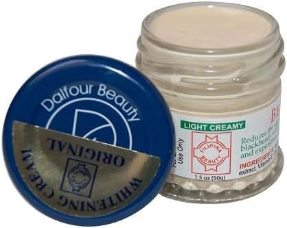 Authentic Dalfour Beauty Gold Seal White Cream Filipina Logo
