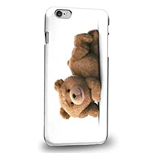 Case88 Premium Designs 2015 Ted Teddy Bear 0922 Protective Snap-on Hard Back Case Cover for Apple iPhone 6 Plus 5.5