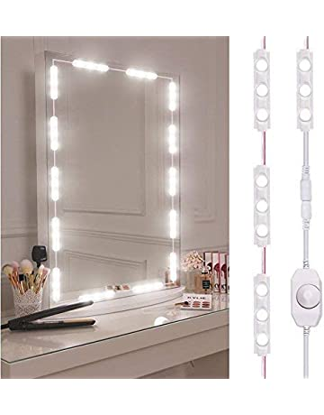 Viugreum Luces LED de Espejo,Luces de camerino,DIY Lámpara para Espejo de maquillaje