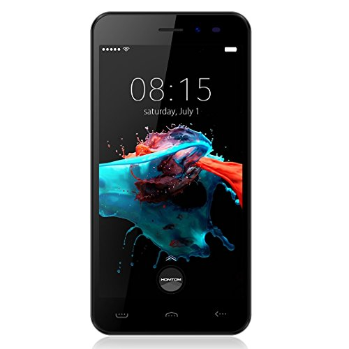 HOMTOM HT16 5.0 inch 1GB RAM + 8GB ROM Dual SIM Android 6.0 MTK6580 Quad Core up to 1.3GHz 3G Network Smartphone, Support Smart Gestures+ Wake Gesture (Black)