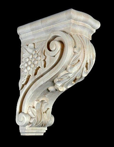 13-maple-wood-bar-corbel-hand-carved-stain-grade