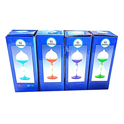 Colorful Office Thinking Mini Hand Boiler, Glass Science Energy Transfer, Children Science Experiment, Love Birds Color Meter Hand Boiler, 4 Pcs (Red&GreenBlue&Purple) by C&H: Toys & Games