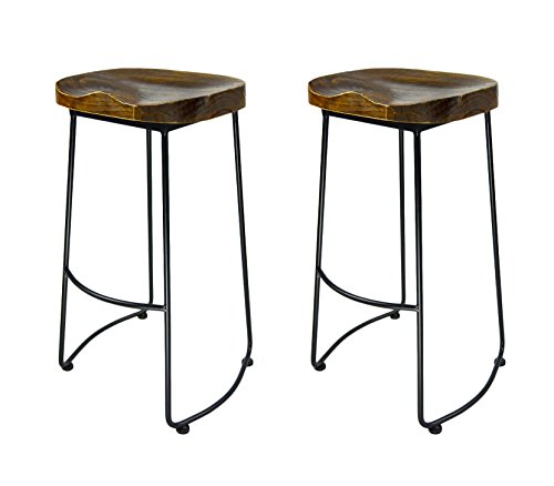 Retro Bar Stool Set - 5
