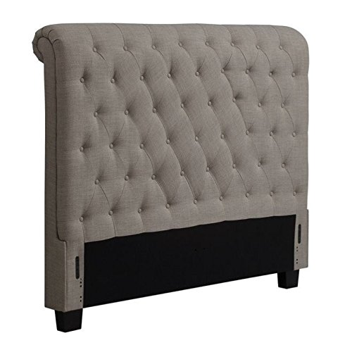 Modus Furniture 3ZH3L6BH11 Royal Tufted Headboard, California King, Espresso