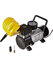 Multilaser Compressor De Ar Automotivo 12V Vazão 20L/Min Pressão De 100Psi Com 3 Bicos Preto - Au616