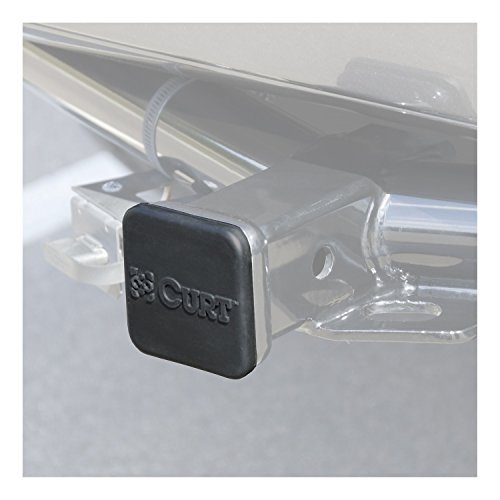 CURT 22272 Rubber Hitch Tube Cover (Tube Hitch)
