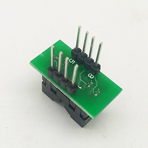 MSOP8 to DIP8 Socket Programming Adapter/Converter for MCU IC Test