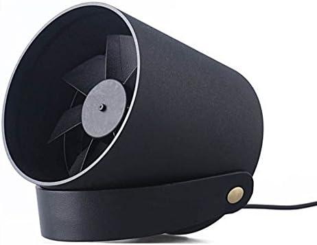GLEADING Ventilador portátil Control táctil Inteligente, Ultra silencioso, Ventilador de refrigeración de PC/Laptop para hogar, Oficina, Viajes.