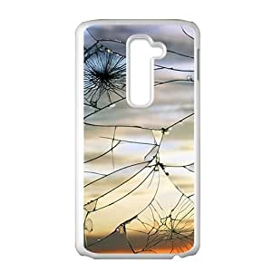 Cracked Glass With View Fashion Personalized Phone Case For LG G2 by runtopwellby Maris's Diary