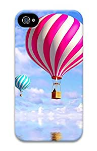 iPhone 4S Case Balloon In The Sky 2 Pattern Hard Back Skin Case Cover For Apple iPhone 4 4G 4S Cases